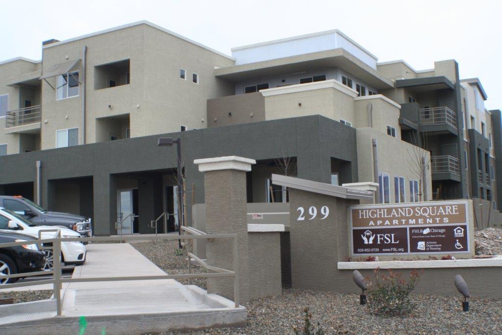 Highland Square Senior Apartments | Arizona Department of Housing