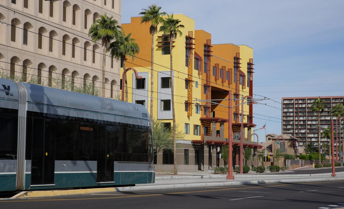 Light Rail at the Devine Legacy