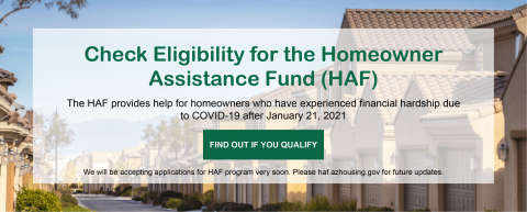 Homeowner Assistance Fund (HAF) feature image
